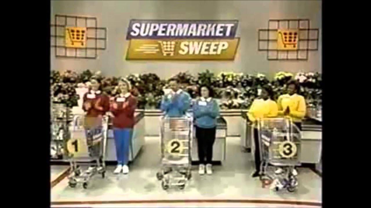Supermarket Sweep (1994) | Liz & Lisa vs. Brooke & Roy vs. Annette ...