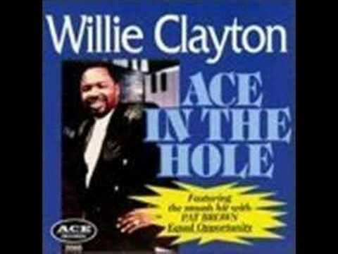"Willie Clayton - Three People ""www.getbluesinfo.com"""