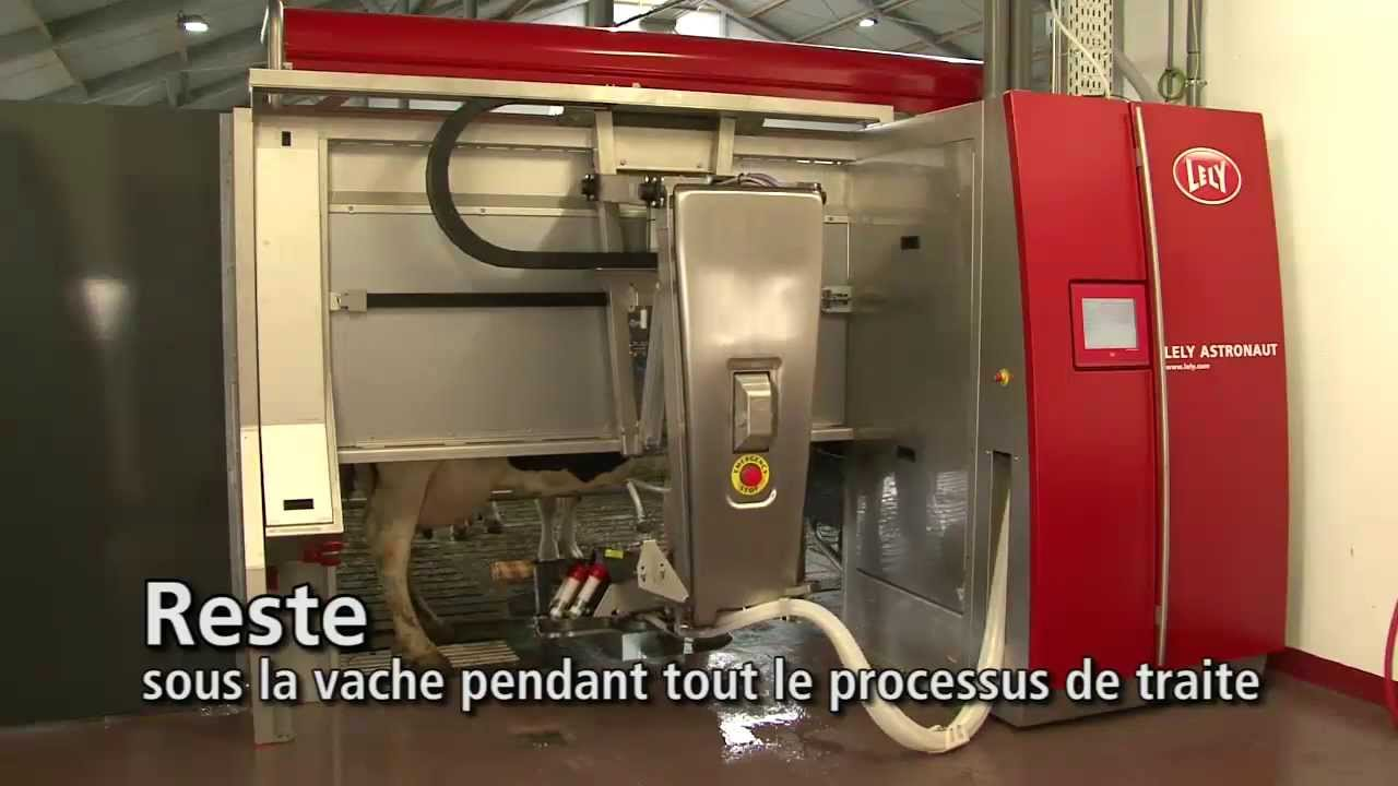 Lely Astronaut A4 - Milking robot arm (French)