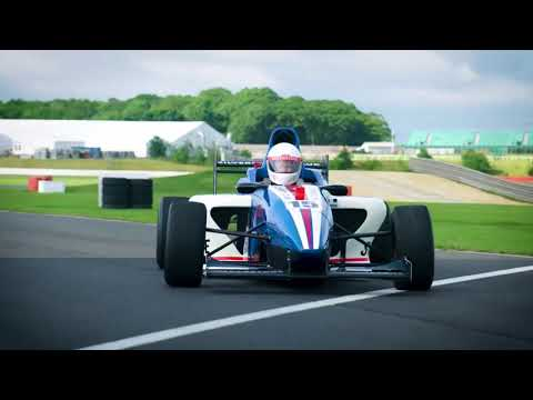 Video of Formula Silverstone Single Seater Thrill and Three Course Meal with Wine