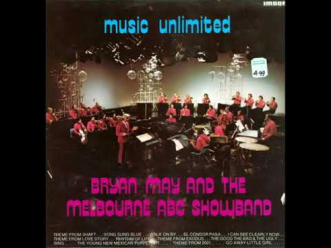 BRIAN MAY AND THE MELBOURNE ABC SHOWBAND - MUSIC UNLIMITED [LP]