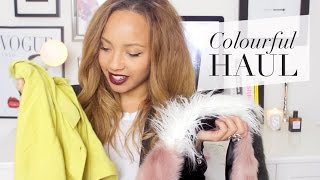 A Colourful Autumn Haul! | ASOS, H&M, Sephora etc.