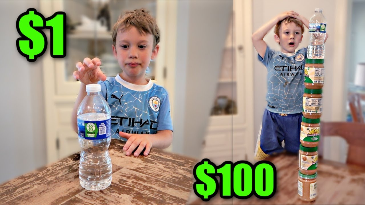 BOTTLE FLIPS from $1 to $100