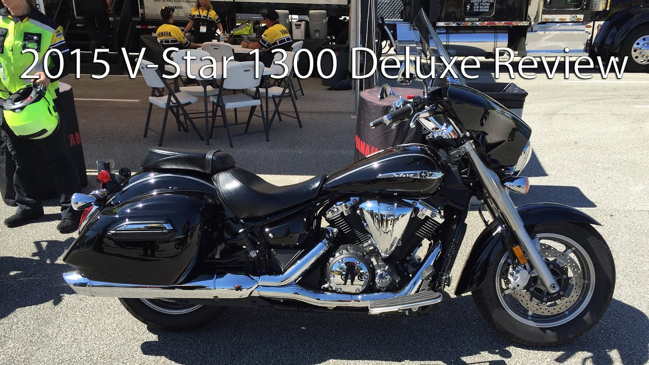 2015 Star V Star 1300 Deluxe Motorcycle Review - YouTube