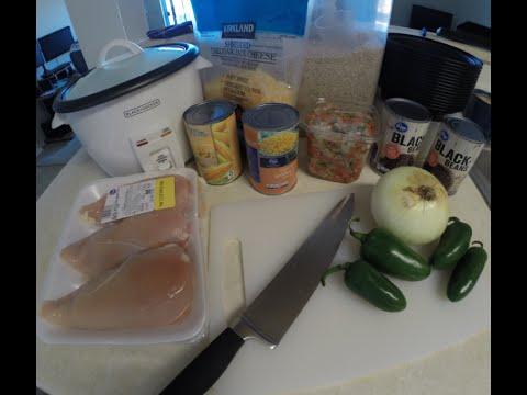 Chipotle Chicken Burrito Bowls ~ $1.15/each! #mealprepsunday