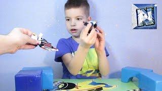 Лего Звездные войны - набор 4 lego brickmaster star wars - ICE MOUNTAIN CHASE   set 4