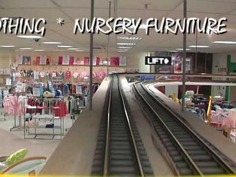 536e9ae47102 Daniel Stores Windsor 1st Floor Toy Train - YouTube