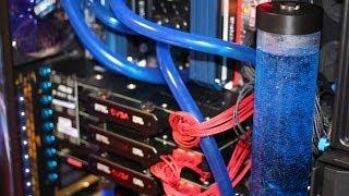 Компьютер Мечты. Mega PC. ПК с Водяным охлаждением. GTX Titan 3-Way SLI