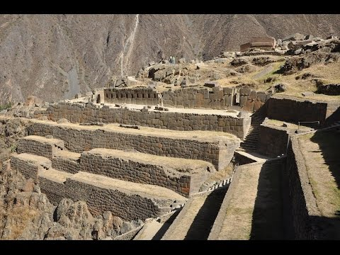 Majestic Flight Over Ollantaytambo In Peru: Megalithic Mystery