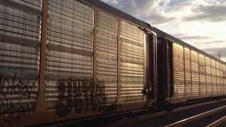 Freight Train in Bakersfield, California