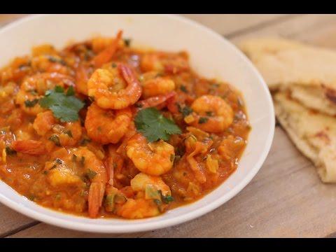كاري الروبيان القيمرون من المطبخ الهندي Youtube