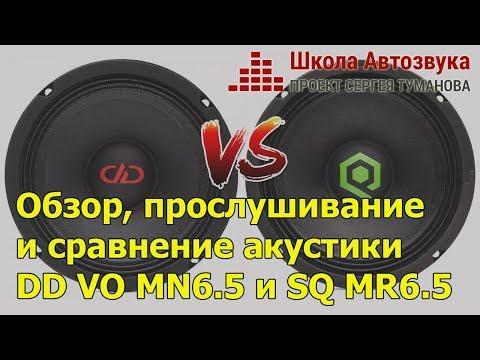 Обзор, прослушивание и сравнение DD VO MN6.5 и SQ MR6.5