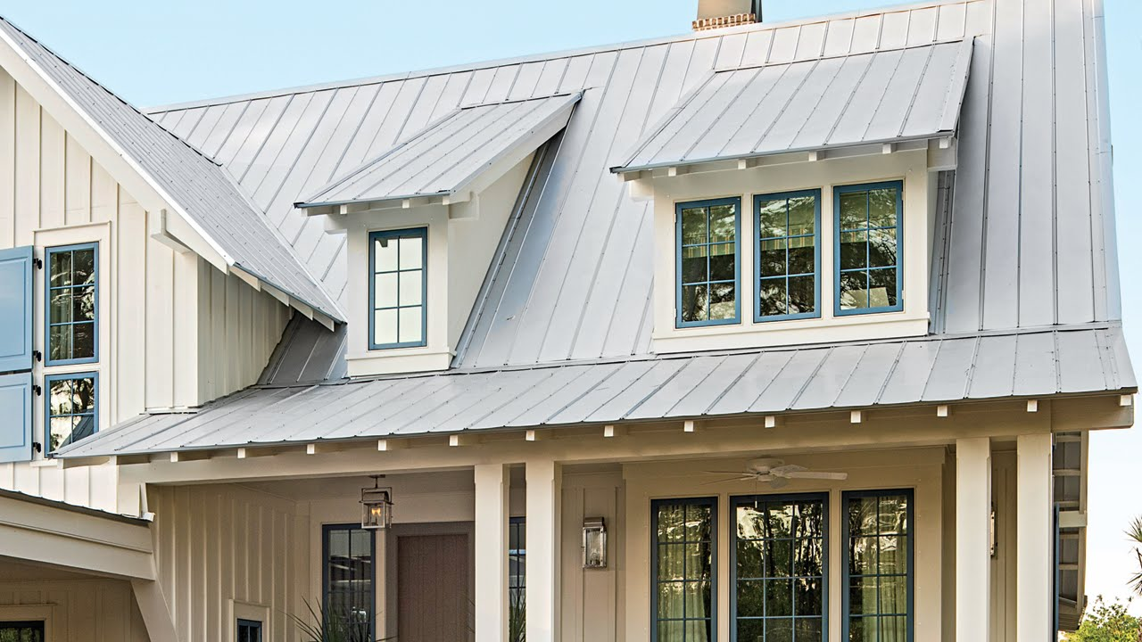 the pros and cons of metal roofing southern living youtube