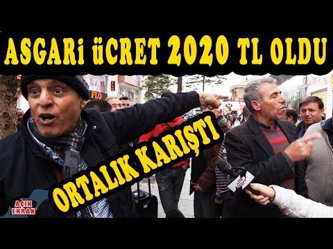 Asgari Ücret 2020 Lira Oldu Ortalık Karıştı!