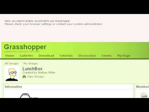 How-To Connect Excel To Grasshopper For Rhino - YouTube
