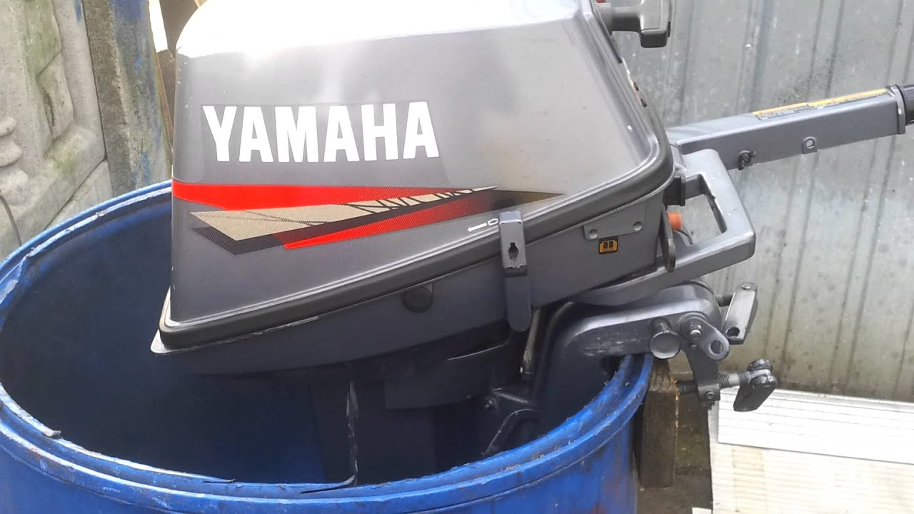 Yamaha 8 hp outboard motor 2006r 2 stroke dwusuw youtube Two stroke outboard motors