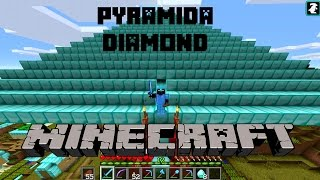 Pyramida Diamond Noob Survival Minecraft Indonesia #27