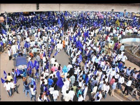 bahujan samaj party ने मायावती के समर्थन में दिखाई ताकत दिल्ली