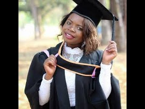 Self schooled village girl and UZ youngest graduate Maud says the sky is the limit