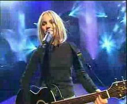 Lene Marlin Sitting down here live at faddergalan 1999