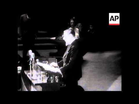 UN GENERAL ASSEMBLY - VYSHINSKY'S ACCUSATION AGAINST CHURCHILL