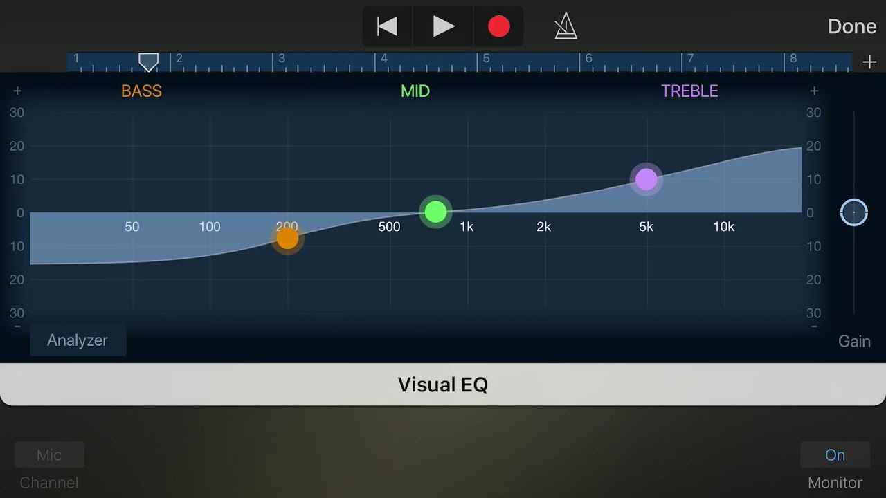 How to mix and master vocals in GarageBand for iOS|| iPhone or iPad|| 2017