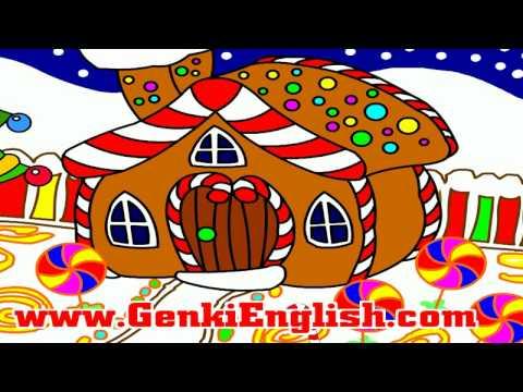 Gingerbread House Christmas Song Genki English