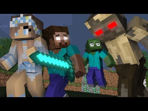 Monster school : Zombie Get Home | Herobrine Life Part 14 -Minecraft Animation