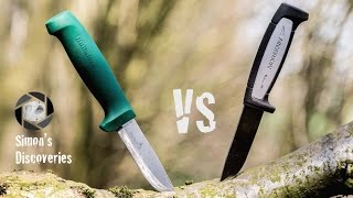 Hultafors Heavy Duty vs Mora Robust Pro Abuse Test (Polskie Napisy)