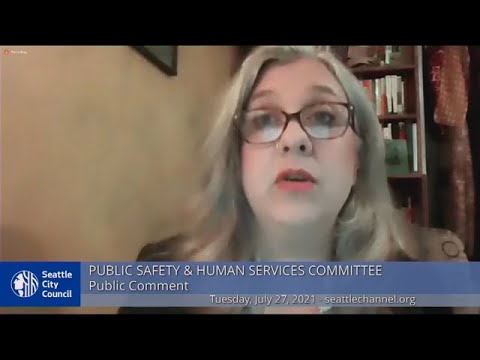 Public Safety \u0026 Human Services Committee 7/27/21