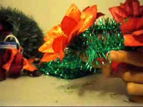 Artes y manualidades decoracion navide a como adornar for Decoracion navidena