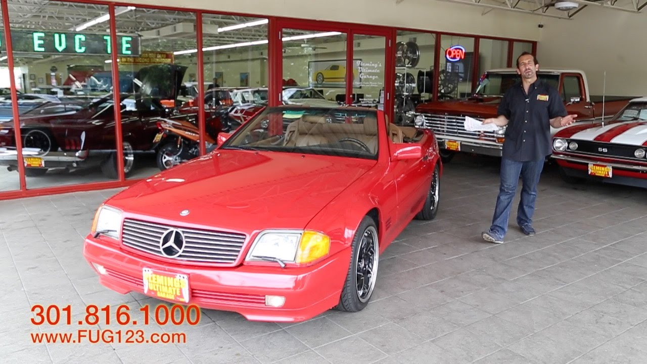 hight resolution of 1992 mercedes benz 300sl roadster for sale with test drive driving sounds and walk through video youtube