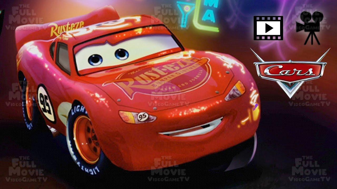 CARS THE FULL MOVIE GAME LIGHTNING MCQUEEN'S NEW ADVENTURES IN ENGLISH - TheFullMovieVideoGameTV