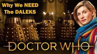 Doctor Who - Why We Need The Daleks on New Years Day!