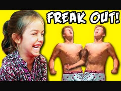 Kids react to greatest freak out ever youtube