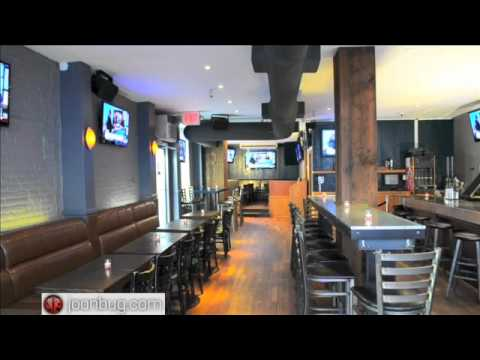 Bounce Lounge and Restaurant New York City Venue Tour (Upper East Side)