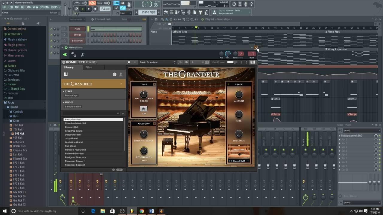 fl studio orchestral pack free download