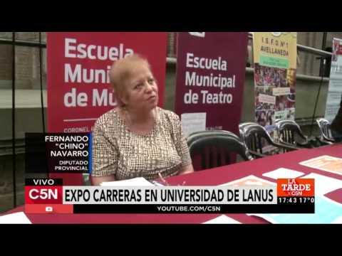 C5N - Sociedad: Expo carreras en universidad de Lanus
