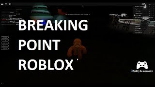 BRAKING POINT ROBLOX ft: Dancing GINGER BREAD MAN! #roblox
