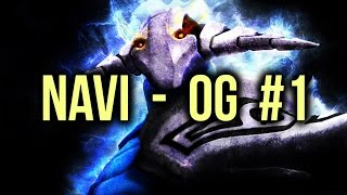 NaVi vs OG Highlights Starladder 13 EU Game 1 Dota 2