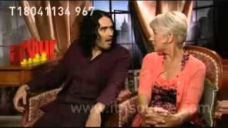 russell brand & helen mirren  london tonight