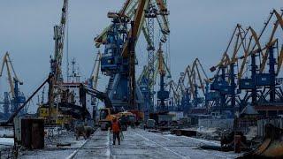 Los puertos ucranianos del mar de Azov, a la expectativa