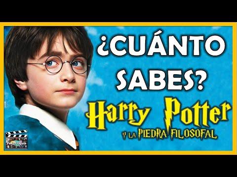 """¿Cuánto Sabes De """"HARRY POTTER Y LA PIEDRA FILOSOFAL""""? Test/Trivial/Quiz"""