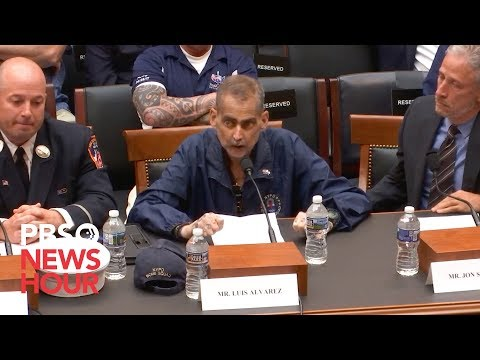 WATCH: NYPD veteran on 69th round of chemo makes plea to Congress for 9/11 victims fund
