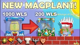 GrowTopia | NEW MAGPLANT(200WLS) + NEW TOKEN!! [ROLE UP]OMG!!