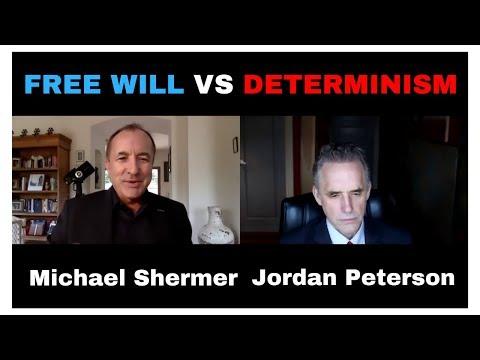 Jordan Peterson and Michael Shermer  Free will vs Determinism