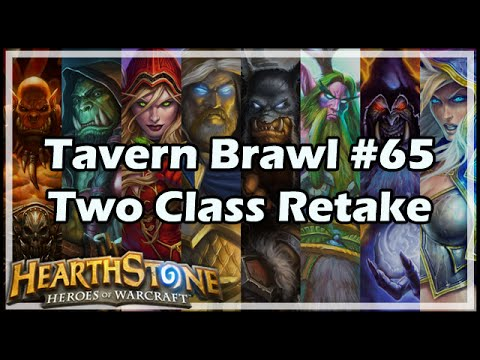 [Hearthstone] Tavern Brawl #65: Two Class Retake