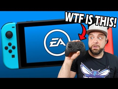 EA Now LOVES The Nintendo Switch? + PRO CONTROLLER REVIEW!