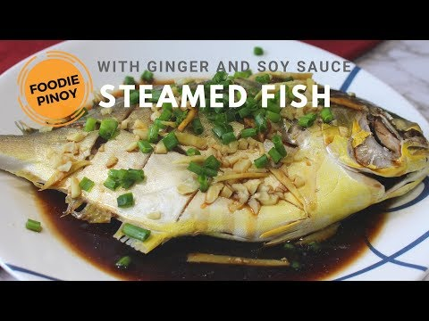 How To Cooked Steamed Pompano | COOKED UNDER 30 MINUTES! Filipino Food Recipe | Foodie Pinoy