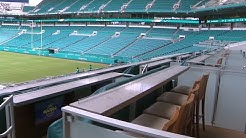 Hard Rock Stadium shows off new upgrades ahead of football season